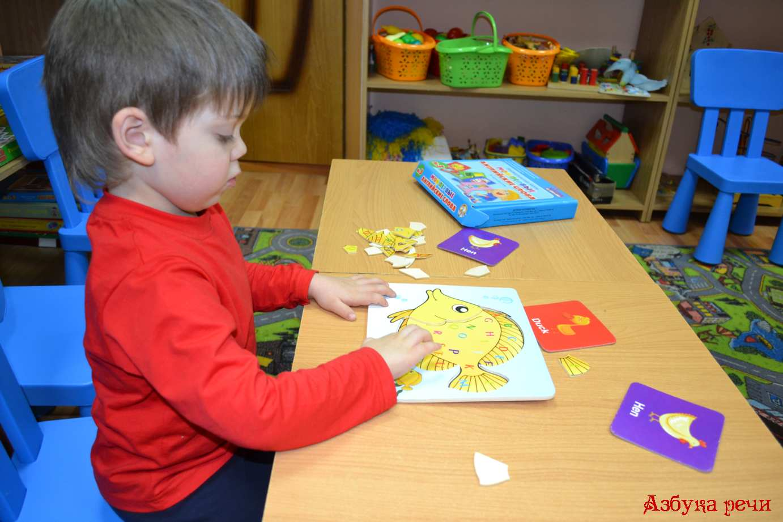знакомство ребёнка с английским алфавитом